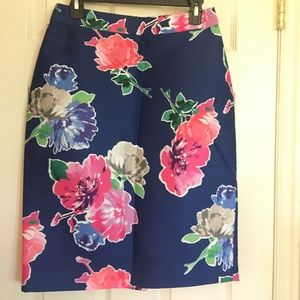 KATE SPADE floral skirt